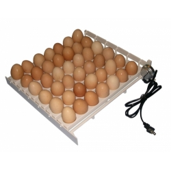 Incubator for hatching 264 egg capacity